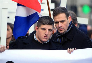 Alexandre Gabriac et son mentor Yvan Benedetti