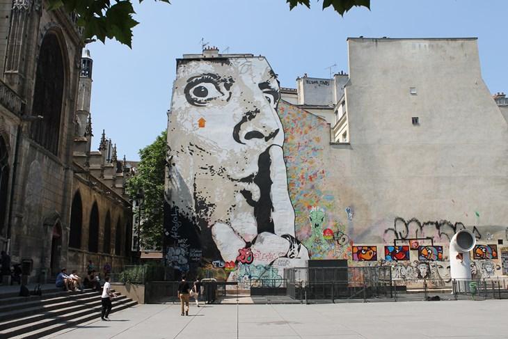 Cet été 10 Spots Où Voir Du Street Art à Paris Streetpress