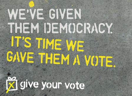 Giveyourvote